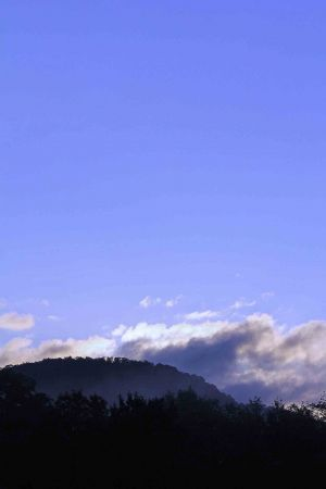 andes morning sky